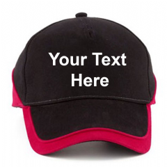 Personalised Teamwear Competition Cap (BB171)